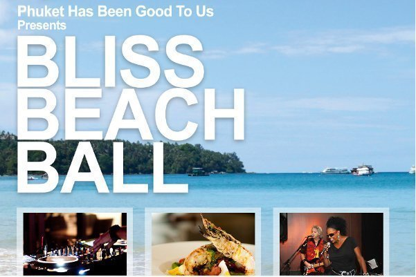 Bliss Beach Ball Raises More than 860,000 Baht for Phuket Charity