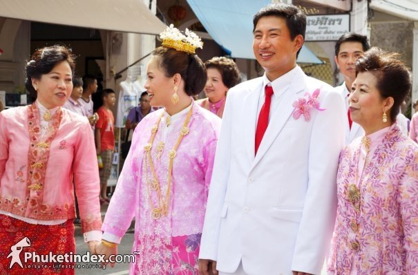 Phuket's 2012 Baba Wedding Ceremony