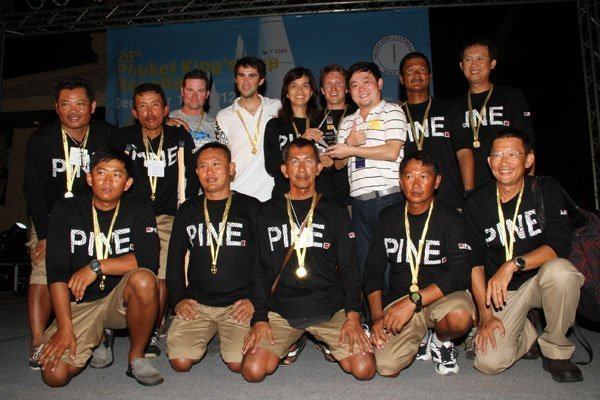 Phuket King's Cup Regatta 2012 closes to magnificent Singha Corporation celebrations