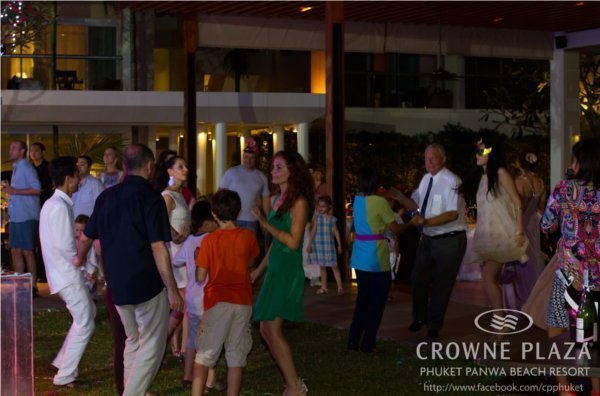 Phuket's Crowne Plaza Panwa Beach welcomes in the New Year