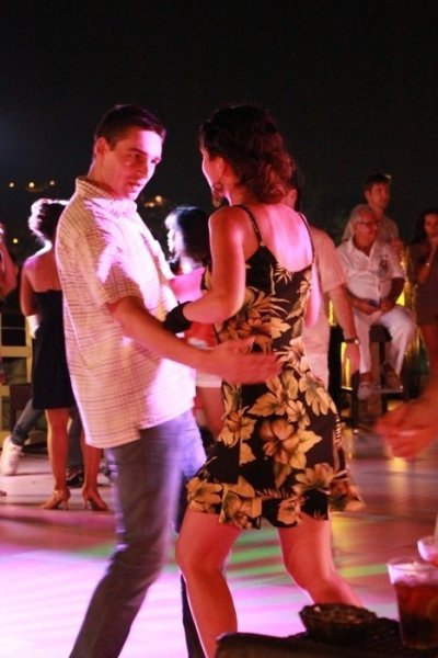 Phuket's First 2013 Sky Salsa on Patong Beach