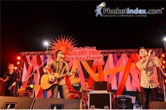 Central Festival Phuket Summer Fest Love Song Concert 2013