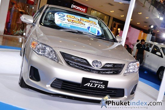 Aum Patcharapa @ Corolla Altis 7 Wonder Speed Day Phuket