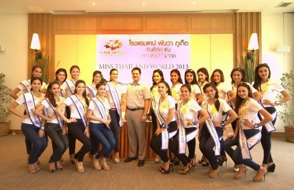 Phuket tourism promoted by Miss Thailand World finalists