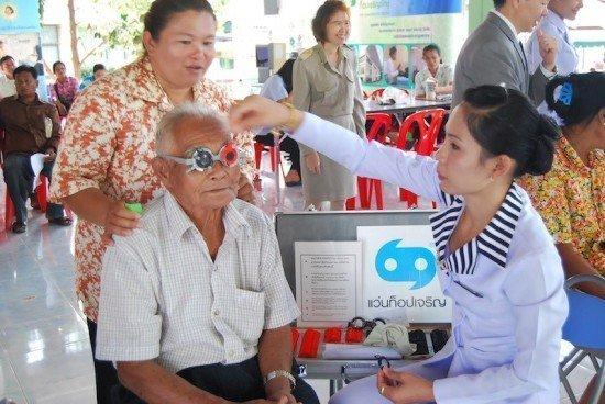 Free eyewear for Phuket adults and elderly
