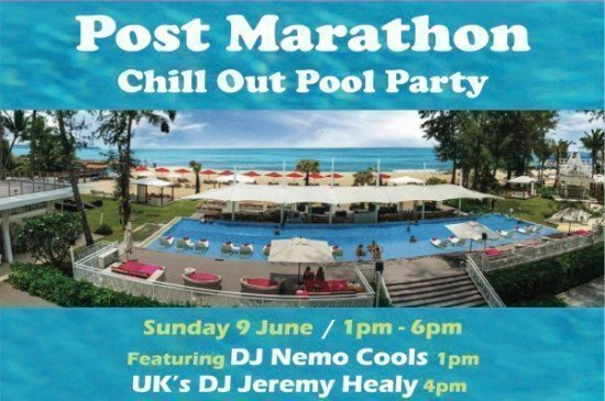 Phuket's XANA to host Post-Marathon Pool Chill-Out