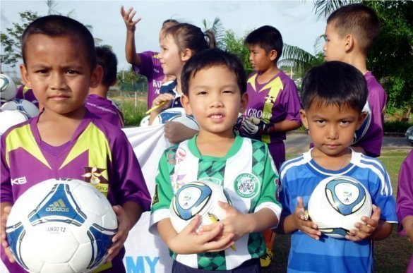 FIFA donates balls to Phuket Football Youth Academy