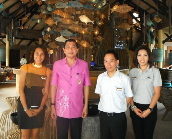 Cape Panwa Phuket Welcomes Phuket Governor