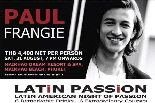 Phuket resort to host Latin Passion set-dinner