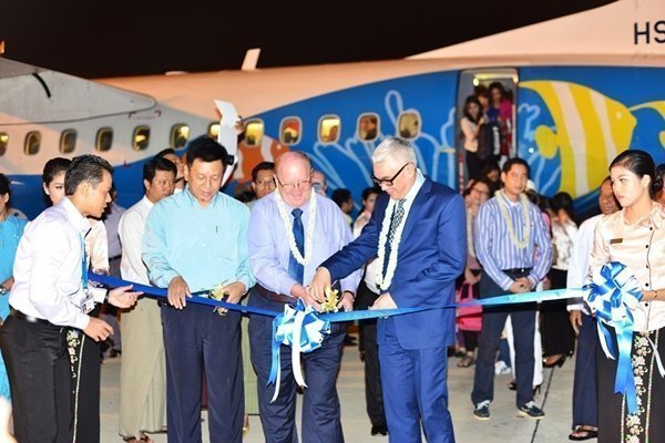 Bangkok Airways' Inaugural flight to Nay Pyi Taw