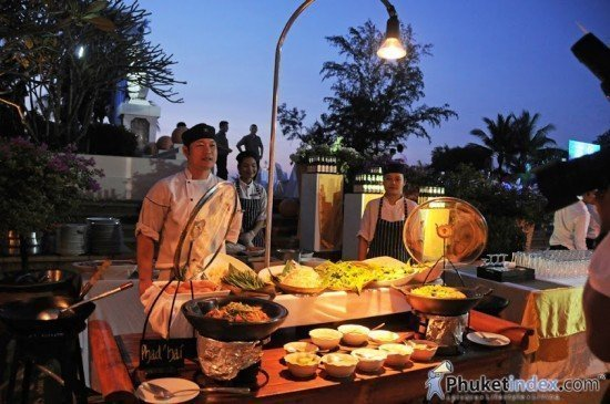 North Phuket's Best of the West Vs the Feast from the East Buffet
