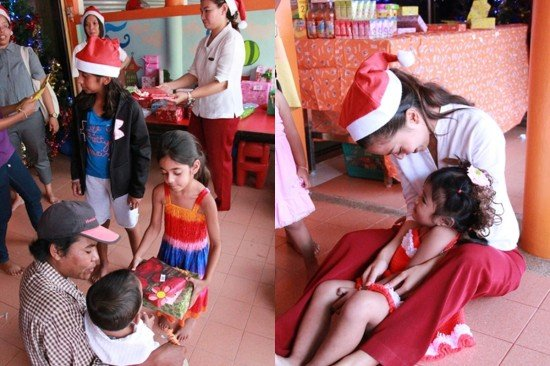 Angsana Laguna Phuket Brings Christmas Cheer to Local Orphans