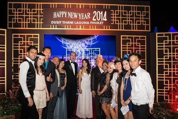 A New Year blast party at Dusit Thani Laguna Phuket