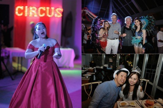 Regent Phuket's thrilling New Year's Eve party