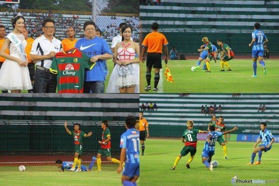Phuket draw with Chonburi FC in pre-season friendly