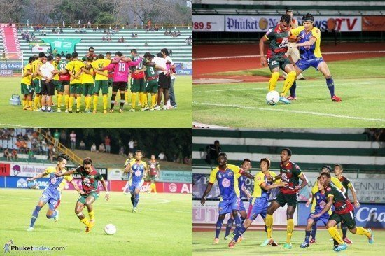 Phuket FC plays out goalless draw at Surakul