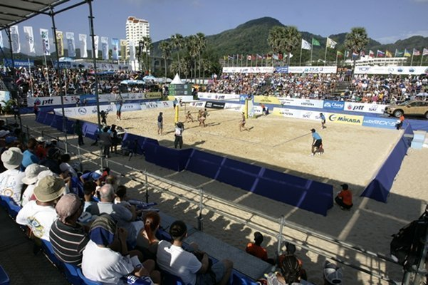 Phuket FIVB Beach Volleyball Open cancelled