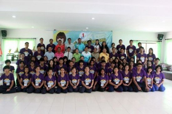 Phuket trains youth leaders for 12th To Be Number One