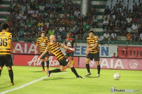 Bangkok Glass ends Phuket FC League Cup run