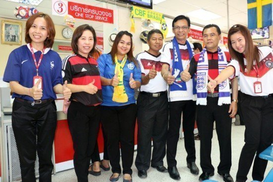 Phuket Post Office sells World Cup Lottery cards