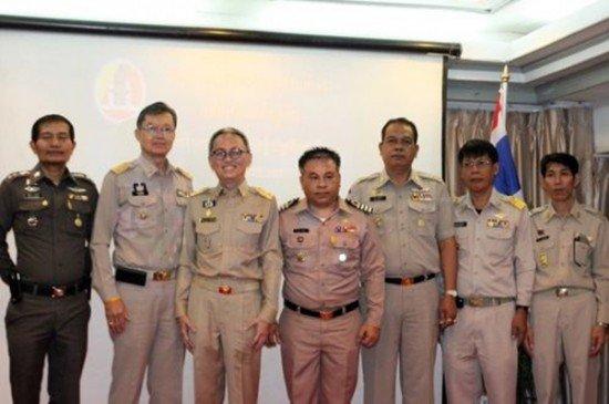 International Crime and Insurgency training program held in Phuket