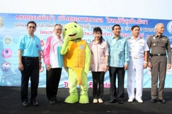 3rd Go Eco Phuket Reef Clean-up a Great Success