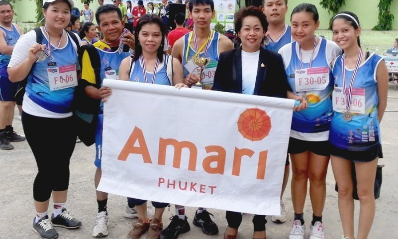 Amari Phuket joins Third Patong Mini Marathon