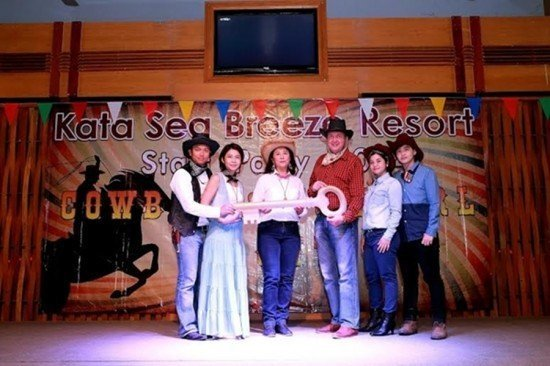 Phuket's Kata Sea Breeze holds annual staff party