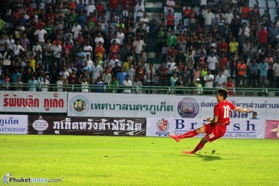 Thailand thrashes Myanmar 8 – 1 in Phuket