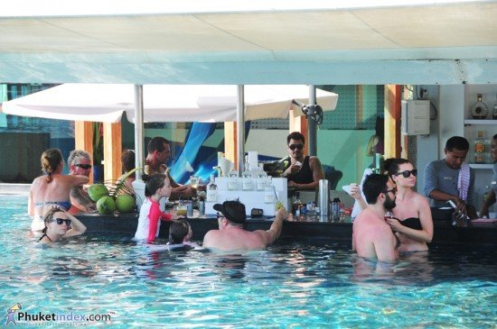 Phuket resort launches weekly pool party