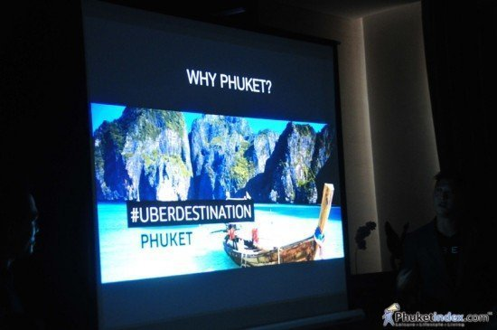 Uber taxi app launches in Phuket
