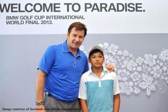 Phuket youth takes title at Junior World Golf Championship