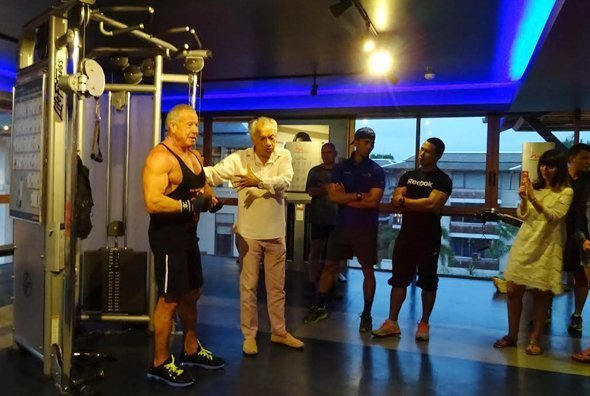 Mr. Universe Dion Friedman @ RPM Health Club