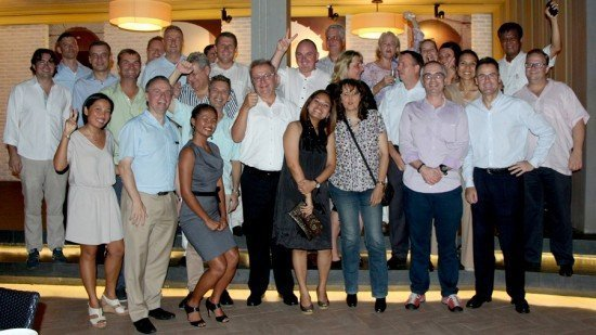 Last Skal Dinner of 2014 held at Amari Phuket