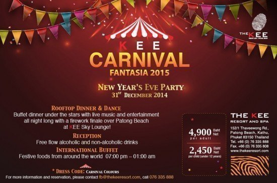 Countdown 2015 at The KEE Resort & Spa