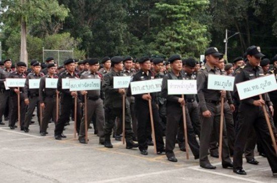 Heavier Police Presence in Phuket during Christmas & New Year