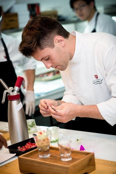 Chef de Cuisine Alex Burger