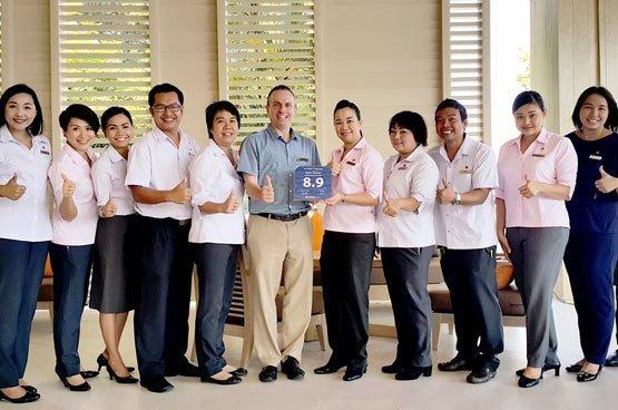 Amari Phuket Team proud of booking.com award