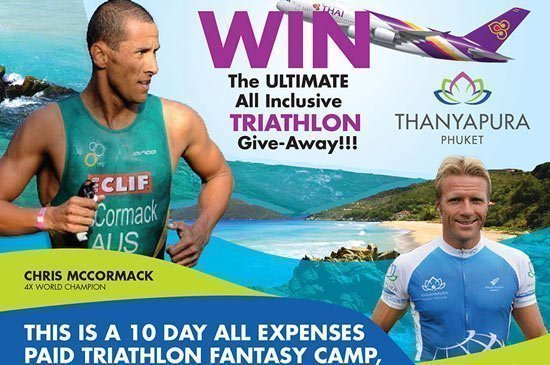 Win a triathlon trip to Thanyapura in Phuket, Thailand