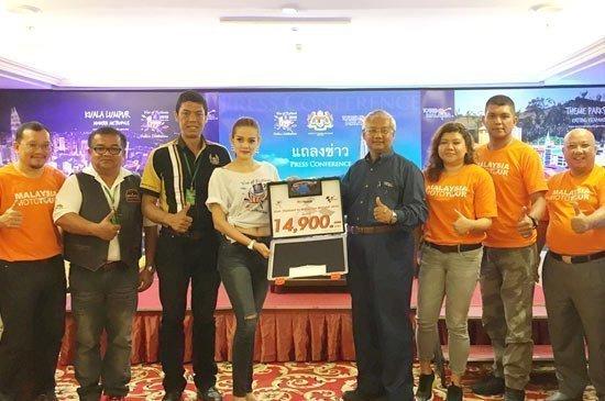 Malaysia promotes motorcycle holiday tours at Phuket Bike Week 2015