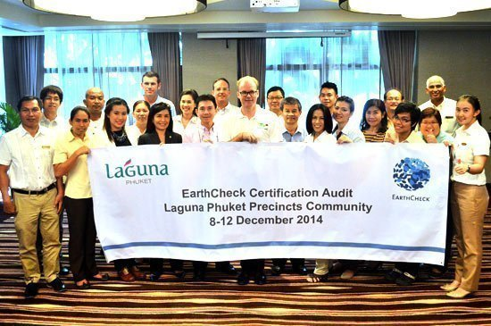 "Asia's first destination resort ""Laguna Phuket"" celebrates EarthCheck Silver Certification"