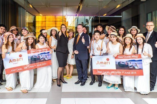 Amari Phuket's sales blitz in town