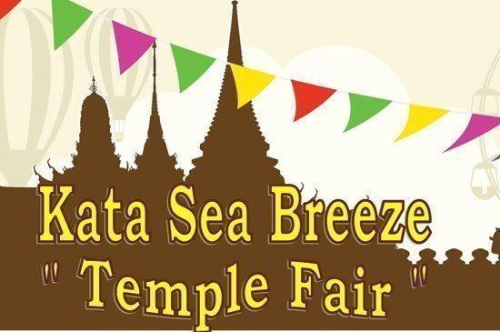 Kata Sea Breeze Temple Fair is welcome to all guests