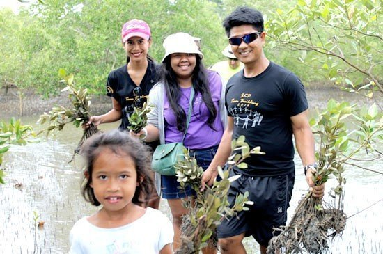 Sofitel Krabi Phokeethra joined the inspirational project by planting 500 trees