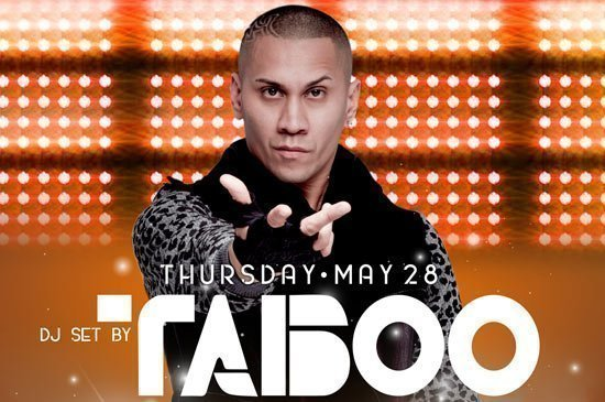 The Black Eyed Peas' Taboo to launch Xana Beach Club