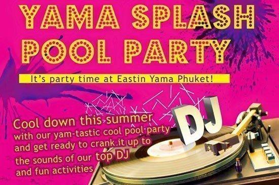 Yama Splash Pool Party