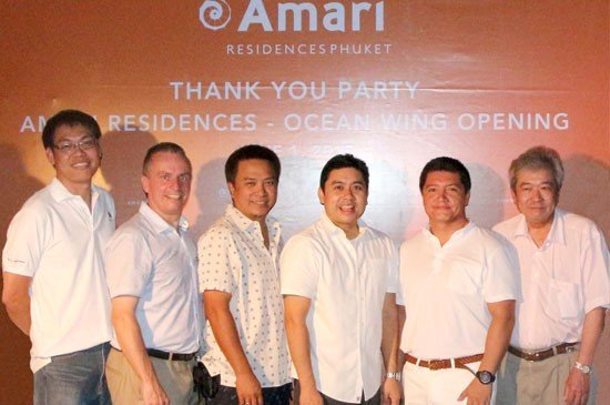 """AMARI HOLDS A """"THANK YOU"""" PARTY UPON COMPLETING THE OCEAN WING"""