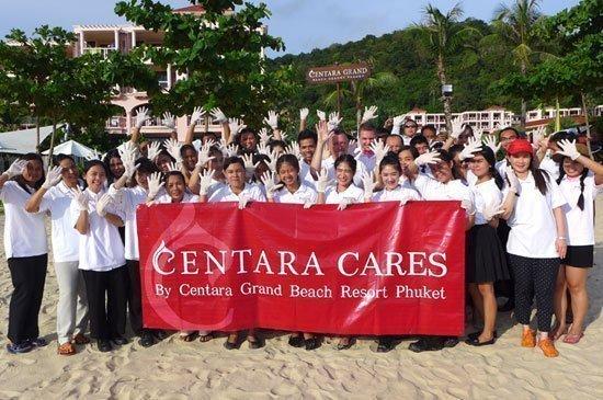 Centara Grand Beach Resort Phuket, Beach Cleaning for World Environmental Day