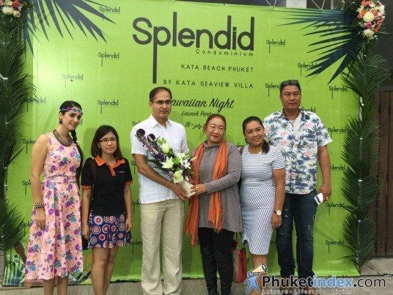 Splendid Condominium Hawaiian Night Launch Party 03