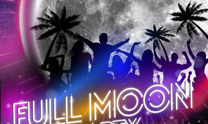 Thailand's world-famous full moon party with some sweet twists
